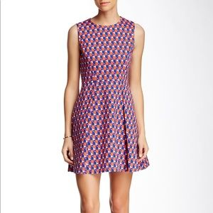 Kate Spade Saturday pleated fit & flare dress